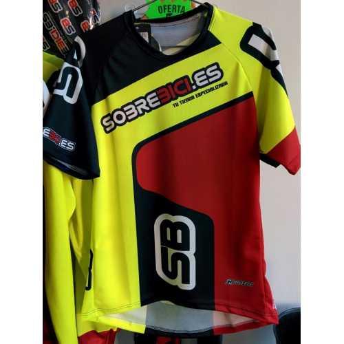 Camiseta Pro Running Flúor SobreBici.es