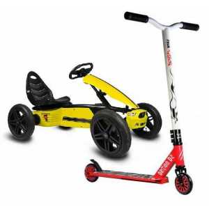 Scooters y Karts a pedales